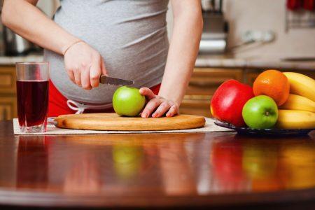 Правильное питание очень важно для беременных