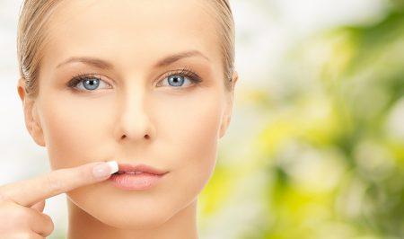 Наиболее часто герпес появляется на губах