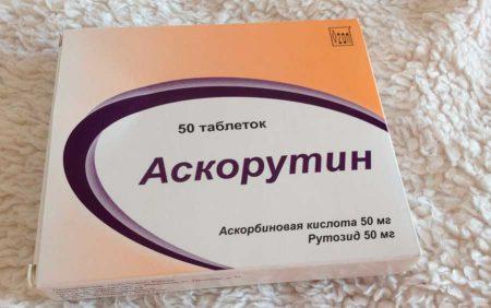 Пример препарата Аскорутин