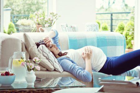 При беременности нужно больше отдыхать
