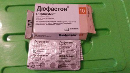 Пример препарата Дюфастон