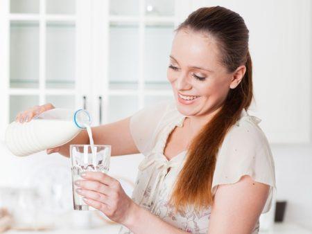 Молоко очень важно при беременности
