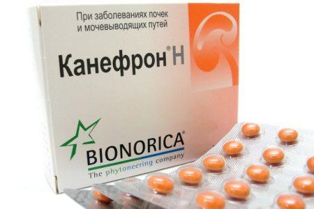 Упаковка препарата Канефрон