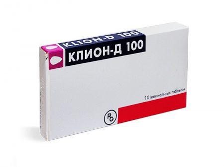 Препарат Клион Д 100 мг