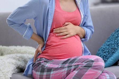 При беременности могут появиться боли в животе
