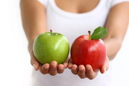 Яблоки как источник гемоглобина в организме