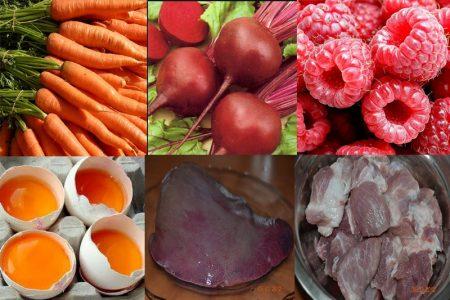 Правильное питание как мера профилактики анемии