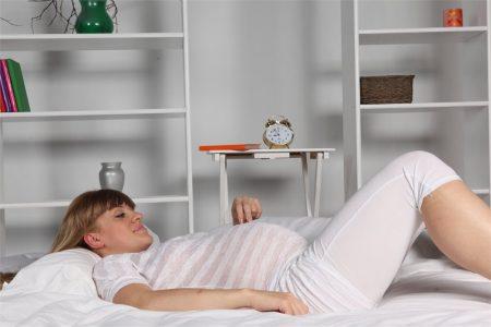 Полноценный отдых для беременной женщины