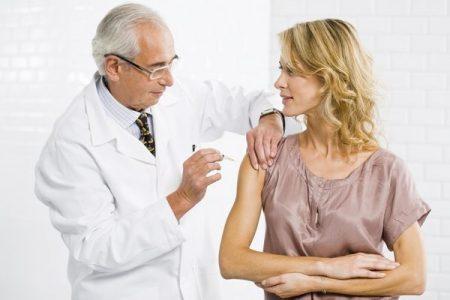 Вакцинирование беременных женщин