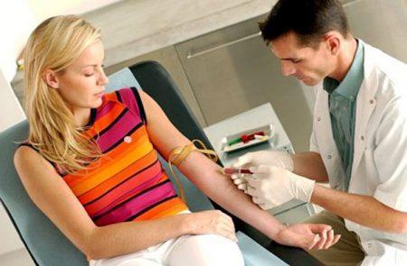 Забор крови для анализа