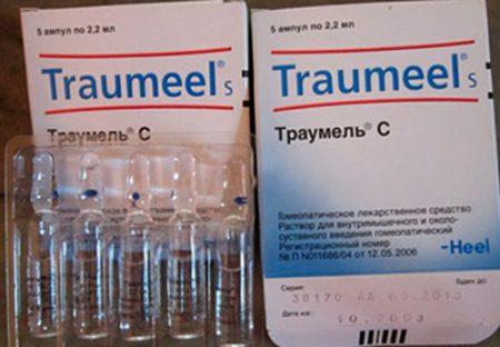 Препарат Траумель в инъекциях